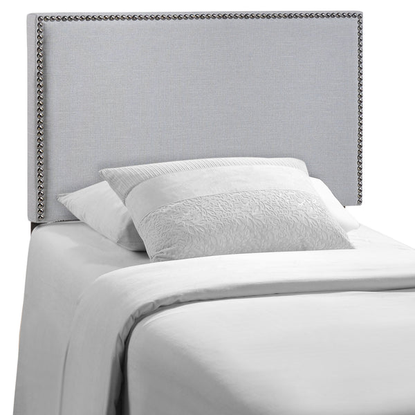 Region Twin Nailhead Upholstered Headboard