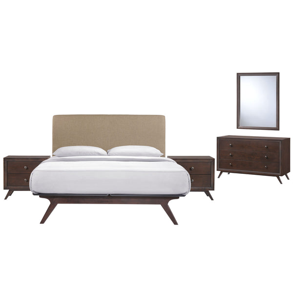 Tracy 5 Piece Queen Bedroom Set