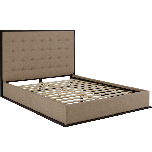 Madeline Queen Upholstered Bed Frame