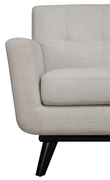 James Beige Linen Chair - ModelDeco