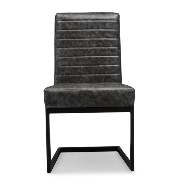 Austin Grey Dining Chair Set of 2 - ModelDeco