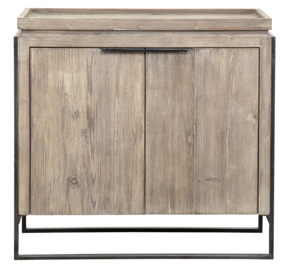 "Dennis Modern Reclaimed Wood Chest 37"" x 18"" - ModelDeco"