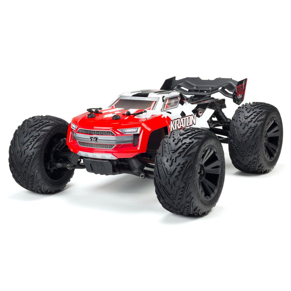 Backorder Next Shipment TBD 1/10 KRATON 4x4 4S BLX RTR Red