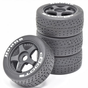 "Arrma INFRACTION 6s - TIRES & Wheels (tyres ""HOONS"" DBoots Limitless AR109001"