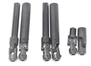 Gen8 Int'l Scout II AXE - Center Driveshafts (front/rear/center shafts Redcat
