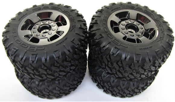 Arrma BIG ROCK 4x4 3s BLX - TIRES & Wheels (tyres rims DBoots Ragnarok AR102711