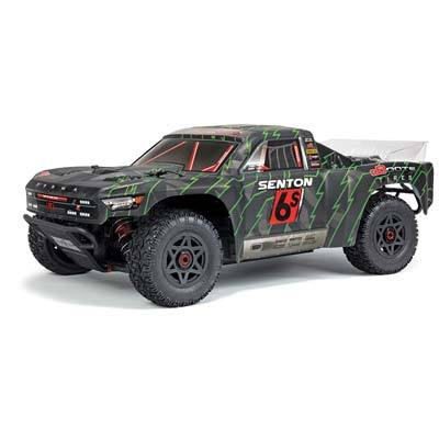 Backorder Next Shipment TBD 1/10 Senton 6S 1/10 BLX 4WD Short Course Blk/Grn