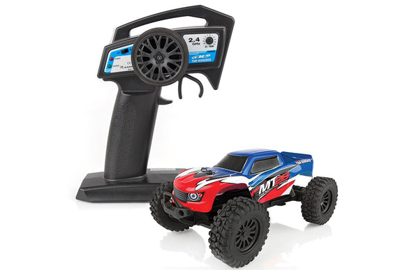 Team Associated - MT28 Monster Truck RTR, 1/28 Scale 2WD, w/ Battery, Charger and 2.4GHz Transmitter