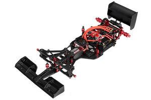Corally - 1/10 FSX-10 Formula 1 Chassis Kit (No Body, Tires, or Electronics)
