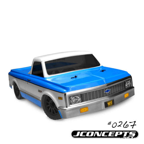 1972 Chevy C10-Slash 4X4 Scalpel Speed Run Body