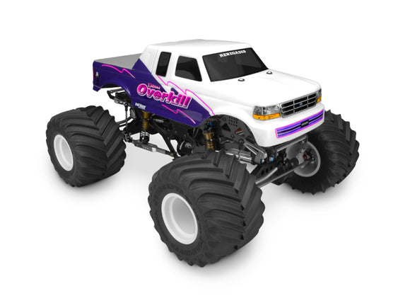 1993 Ford F-250 super cab monster truck body w/racerback
