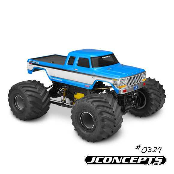 1979 Ford F-250 SuperCab Monster Truck Body w/ Bumpers