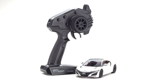 Kyosho - Mini-Z Honda NSX RWD 130R Readyset MR-03 Mini-Z, White