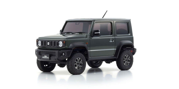 Kyosho - Mini-Z 4X4 Suzuki Jimny Sierra Jungle Green Ready Set