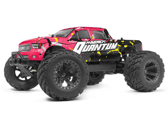 Maverick - Quantum MT 1/10 4WD Monster Truck, Ready To Run - Pink