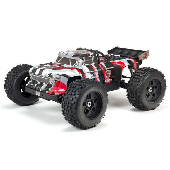 Backorder Next Shipment TBD 1/8 OUTCAST 6S BLX 4WD Brushless Stunt Truck RTR, 10th Anniversary Limited Edition