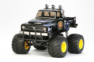 Tamiya - The Midnight Pumpkin, Black Edition 1/12 Monster Truck Kit