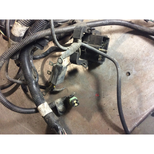 1992 1995 jeep wrangler yj 2 5 4 cylinder wiring harness no splces com 1992 1995 jeep wrangler yj 2 5 4 cylinder wiring harness no splces complete wire pkg