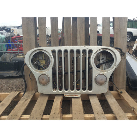1972 Jeep CJ CJ5 Grille Front Assembly Shell Grill Panel Wall Art