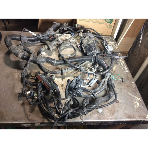 jeep wiring harnesses 1992 1995 jeep wrangler yj 4 0 inline straight 6 engine wiring wire harness