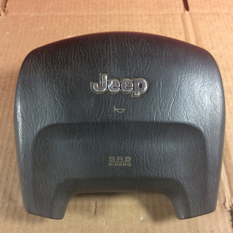 04-06 Jeep Wrangler TJ LJ Air Bag Steering Wheel Left Driver Side Airbag 5JG52DX9AD