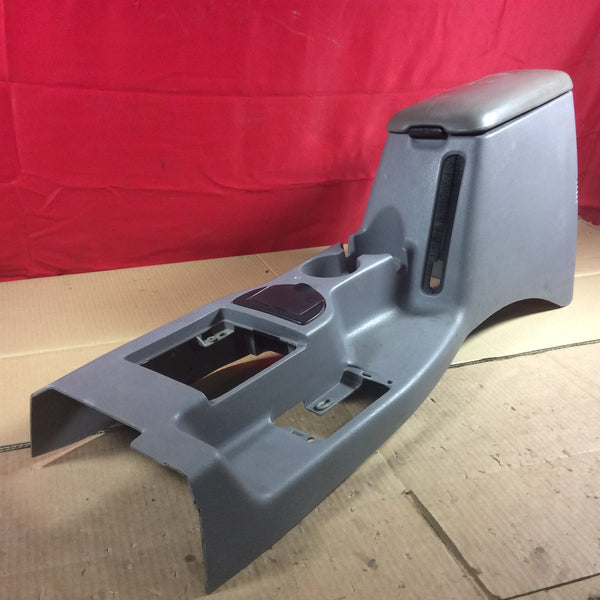 97-01 Jeep Cherokee XJ Console Gray Center Floor W/ Cup Holders & Ash Tray
