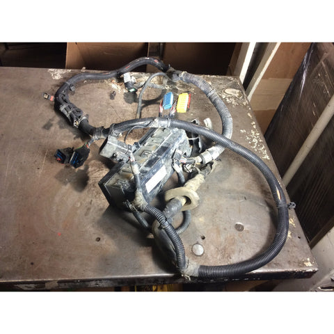 wrangler tj 97 06 electrical parts tagged type wiring harness 1998 98 jeep wrangler tj underhood engine fusebox fuse box wiring harness 2 5 4 0 4