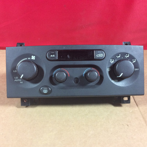 1999-2004 Jeep Cherokee WJ A/C Heater Climate Control Head Unit 55115903 Air Conditioning
