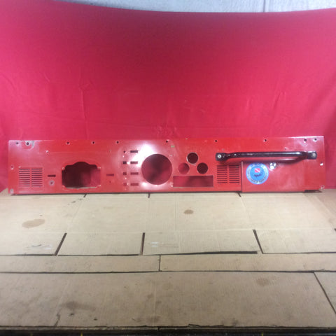 76-86 Jeep CJ CJ5 CJ7 CJ8 Scrambler Red Front Dash Panel Dashboard Metal Frame