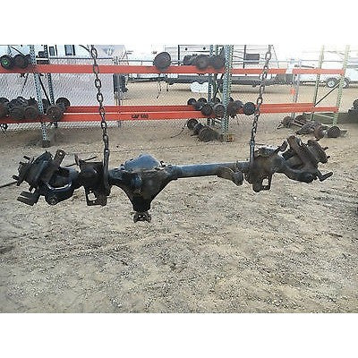 Used 97-06 Jeep Wrangler TJ Front Axle Assembly Dana 30 4.10 Gear Ratio OEM