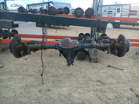 2001 Jeep Grand Cherokee Axle Assembly Rear D44 W/ ABS 3.73 Gears Dana 44
