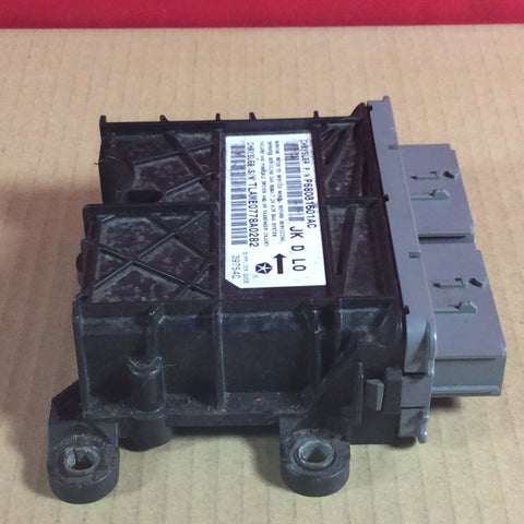 08-09 Jeep Wrangler JK JKU Air Bag Passenger Side Airbag Dash Module 68031601AC