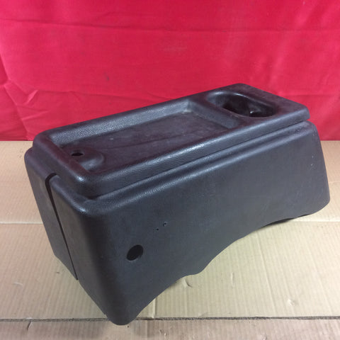 87-90 Jeep Wrangler YJ Black Floor Center Console Cupholders Agate