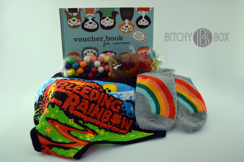 Bleeding Rainbow Bitchy Box