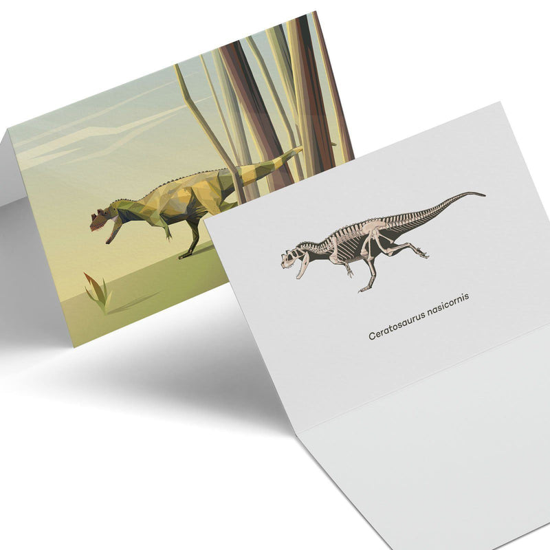 Paleoscape Greeting Cards