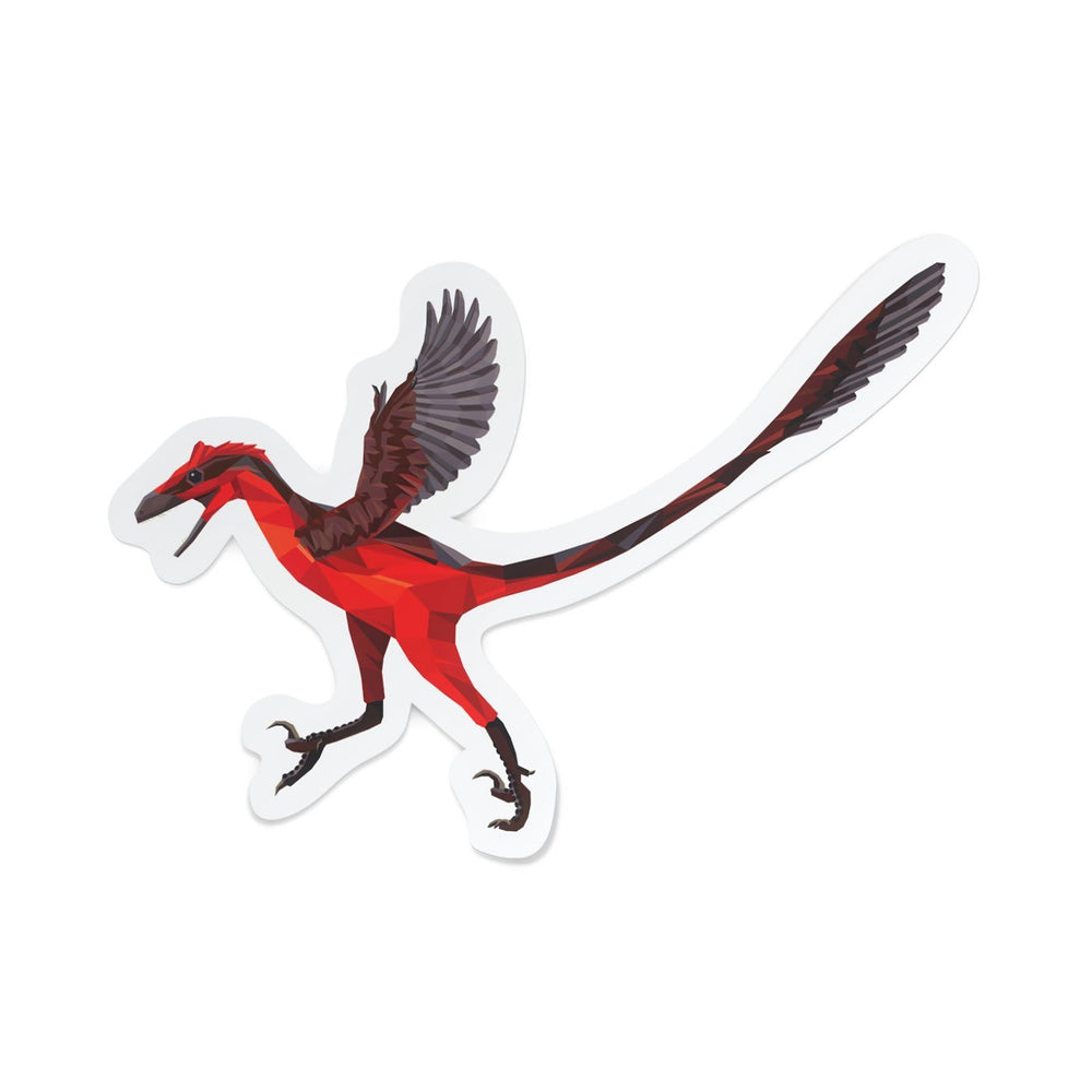 Bambiraptor Collectible Dinosaur Sticker  - Permia