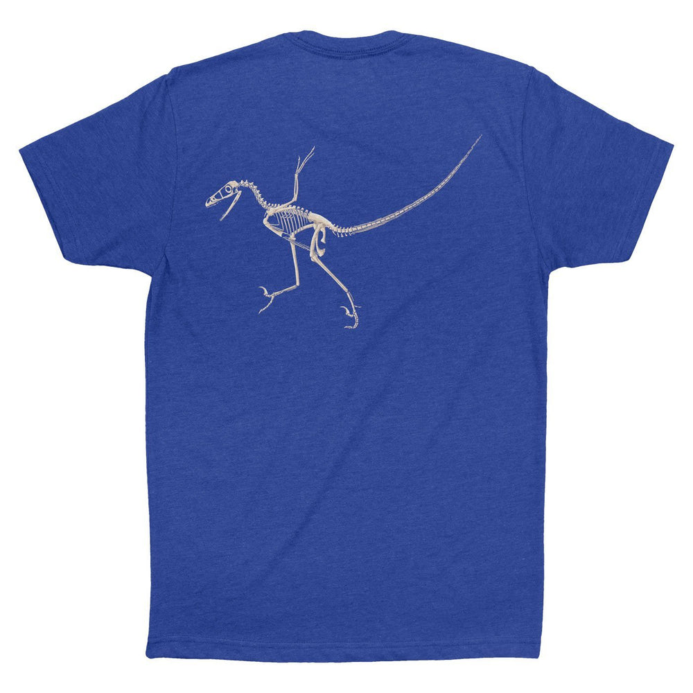Bambiraptor Fossil Fusion™ Adult Dinosaur T-Shirt  - Permia