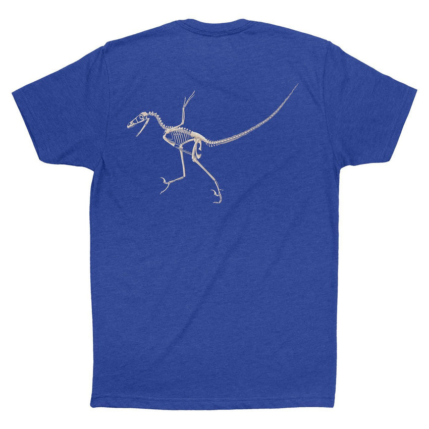 Bambiraptor Fossil Fusion Adult Dinosaur T-Shirt  - Permia