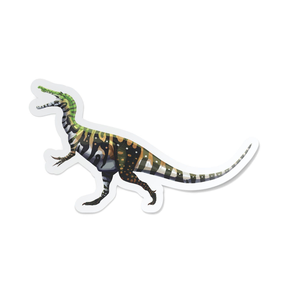 Baryonyx Collectible Dinosaur Sticker  - Permia