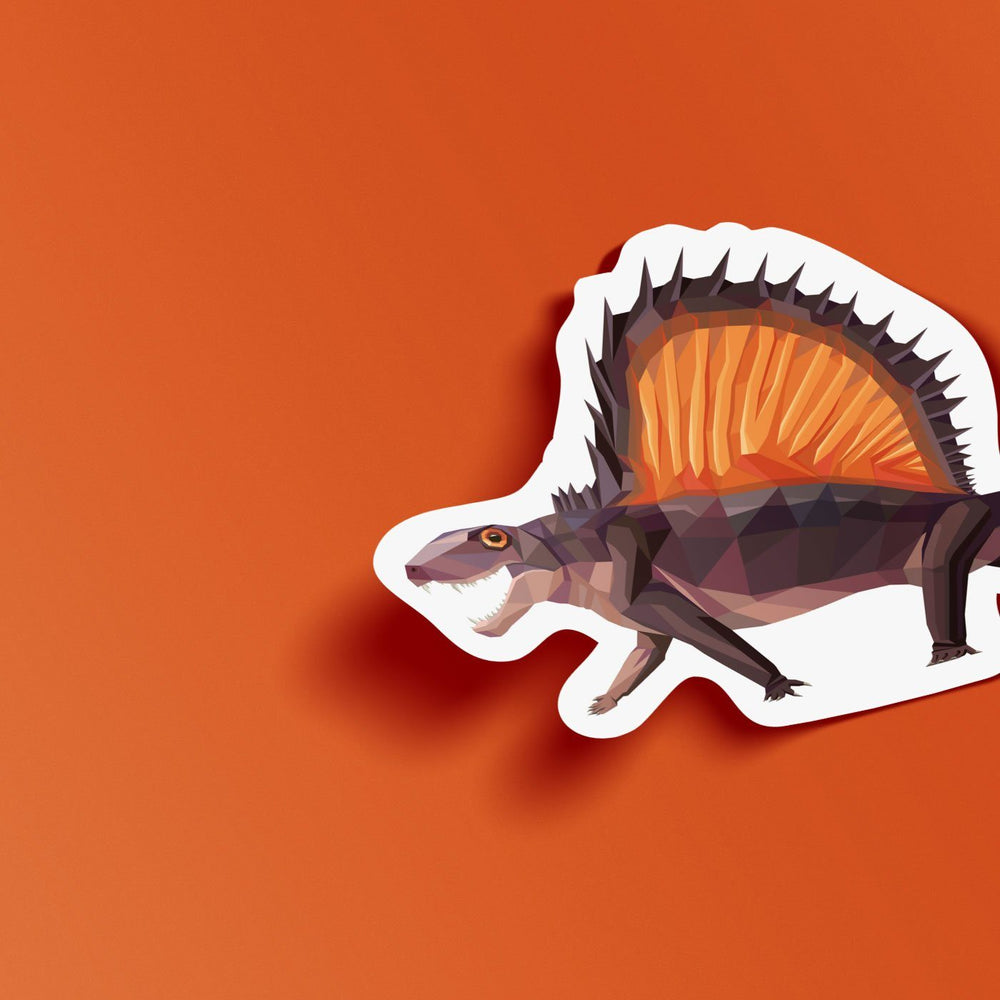 Dimetrodon Collectible Synapsid Sticker  - Permia