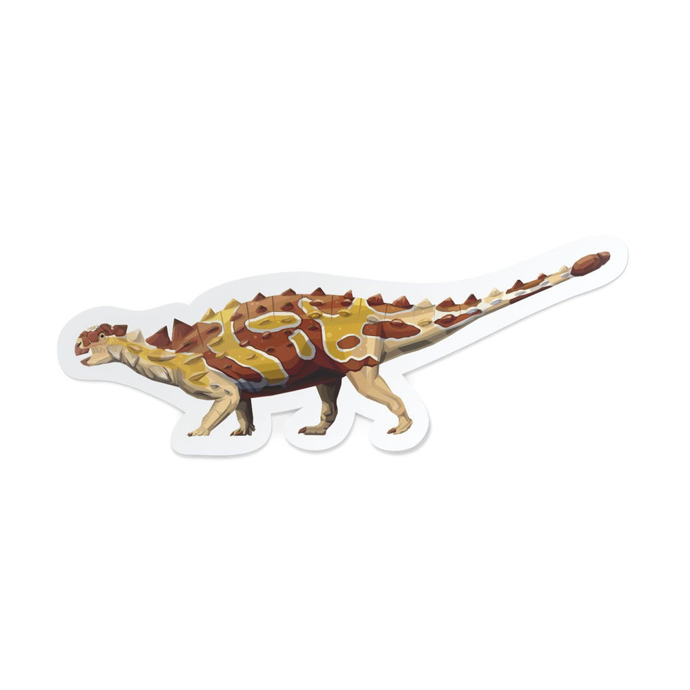 Euoplocephalus Collectible Dinosaur Sticker  - Permia