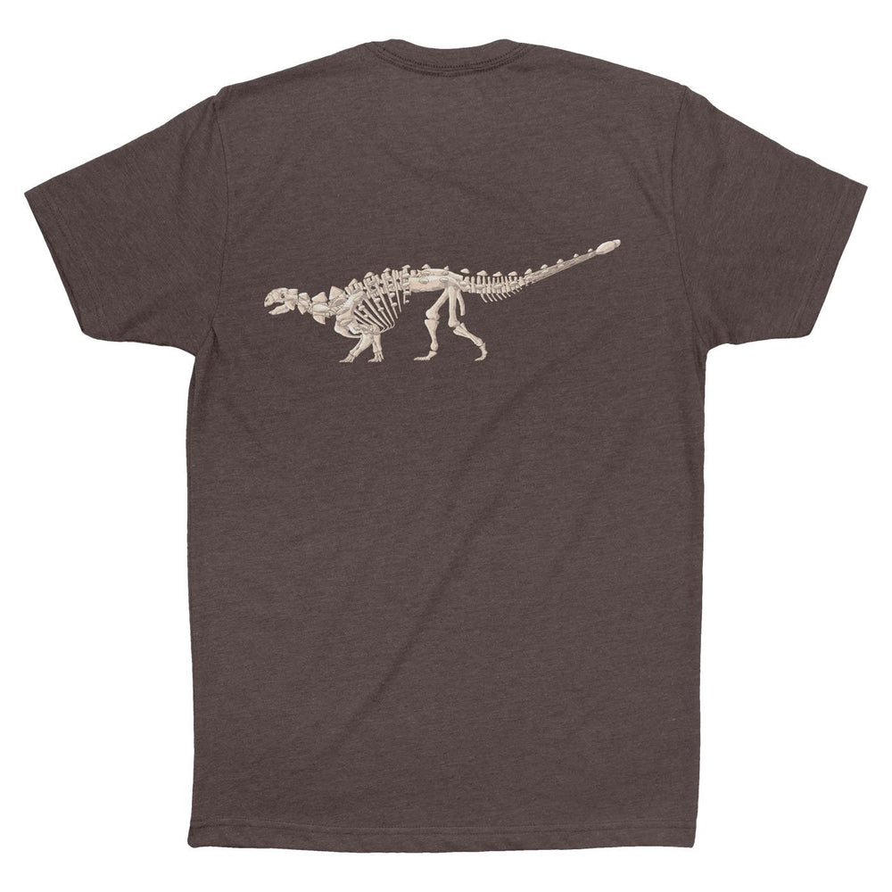 Euoplocephalus Fossil Fusion™ Adult Dinosaur T-Shirt  - Permia