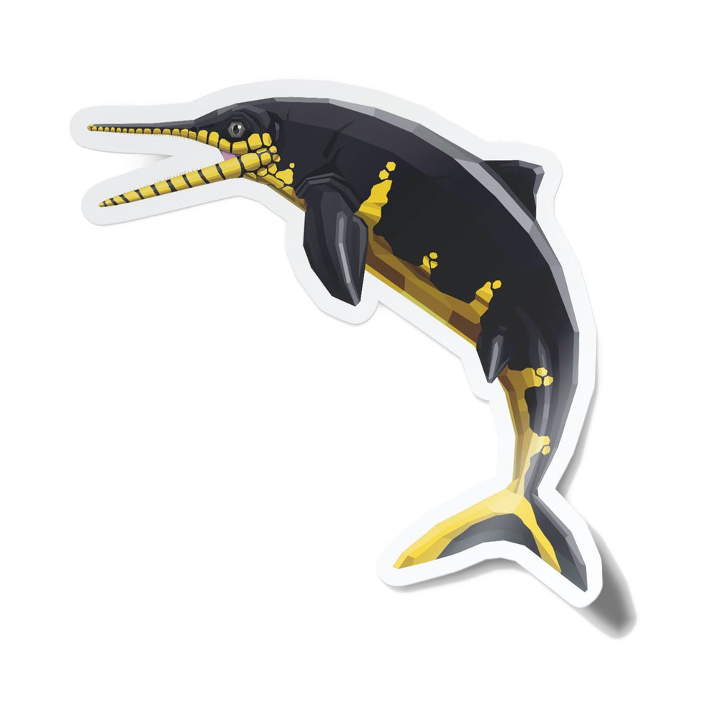 Ophthalmosaurus Collectible Ichthyosaur Sticker  - Permia