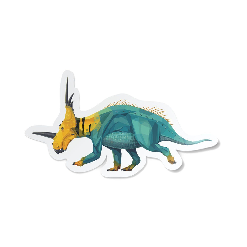 Styracosaurus Collectible Dinosaur Sticker  - Permia