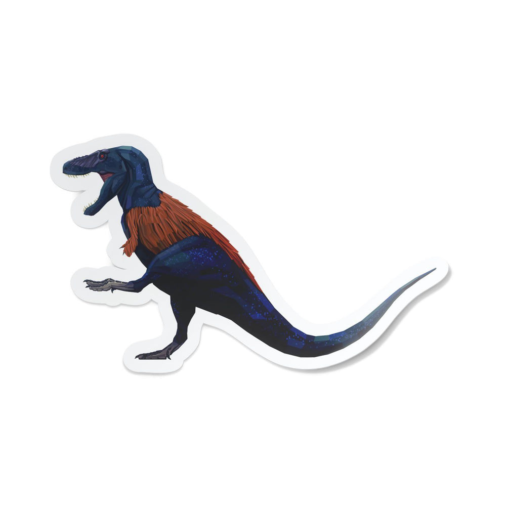 Tyrannosaurus Collectible Dinosaur Sticker  - Permia