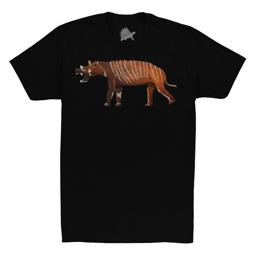 Uintatherium Fossil Fusion™ Adult Mammal T-Shirt  - Permia