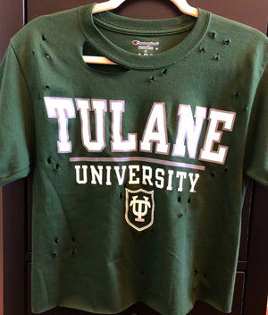 Distressed College Tee (ALL SCHOOLS)