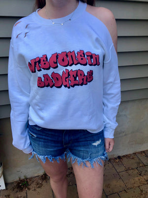 ANY COLLEGE 90s Crewneck Sweatshirt