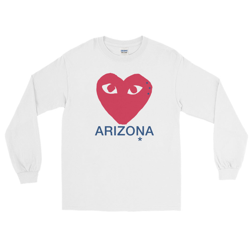 *Any College* Heart Long Sleeve Tee