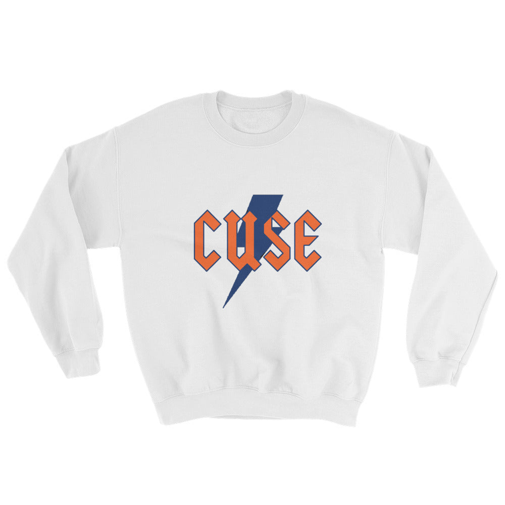 Lightning Bolt Crewneck Sweatshirt (ANY COLLEGE)